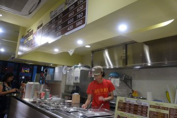 <p>The staff was very friendly and welcoming</p>