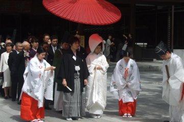 日本傳統結婚儀式