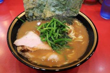 <p>Iekei ramen at Yoshimuraya</p>