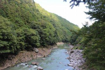 <p>The Yoshino River</p>