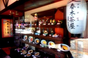 Para cozinha verdadeiramente local em Kishiwada, vá à Casa de Chá de Haruki e ao Restaurante Japonês Kineya