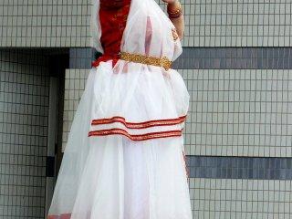 Микс классического и современного индийского танца