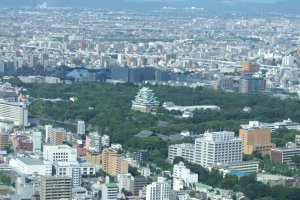 Aerial view of Nagoya Castle