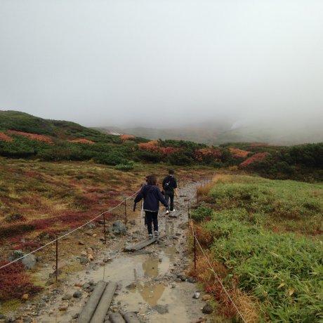Mendaki Asahi-dake di Musim Gugur