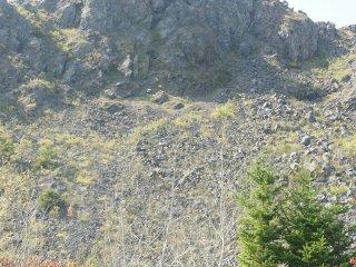 Dari kejauhan, puncak Gunung Usu telah terlihat.