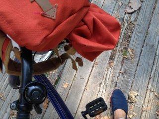 Saya siap memulai kembali bersepeda keliling Onuma