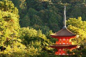 Kiyomizu Temple Tower