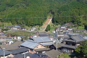 The area of Nakao is home of the world's number 1 and number 2 climbing kiln sites