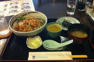 The 500 yen lunch