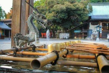 <p>A dragon waterspout</p>