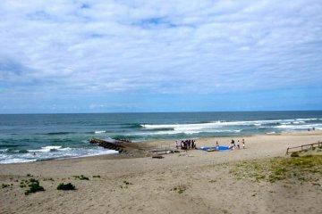 Surf at Ikarashi Cospo Beach