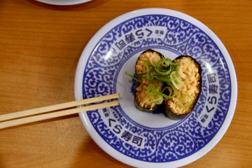 <p>For those who like natto, there is natto sushi</p>