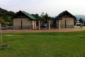 The beach facilities