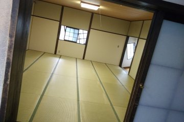 <p>Try walking up this tilted room (not using the handrail) and you are sure to be qualified as a real ninja</p>