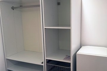 <p>Big roomy wardrobe</p>