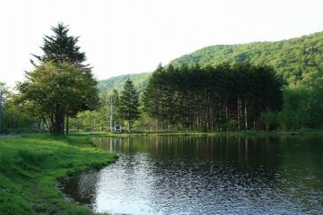 <p>Serene beauty at the Dream Campsite</p>