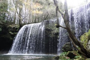 Nabegataki is one of Kyushu's most stunning waterfalls