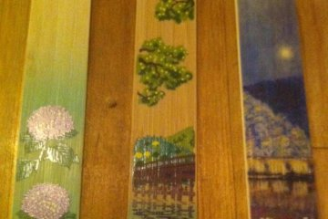 bamboo bookmarks in detail