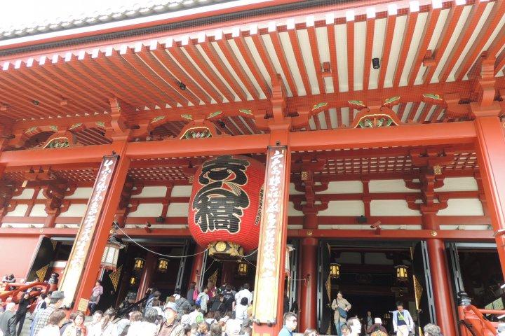Temple Sensō-ji, Tokyo