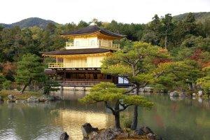 วัดคินคะคุจิ ( Kinkakuji Temple ) หรือ วัดพลับพลาทอง ( Golden Pavilion )