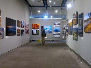 Koleksi foto dalam Photo Salon diganti secara berkala, menampilkan beragam bentuk pameran.
