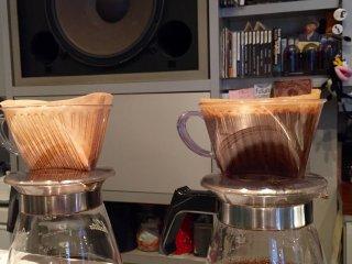 Кофе настаивается