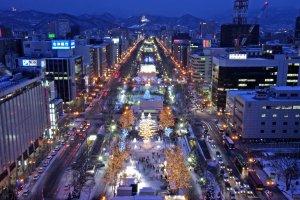 Sapporo, Kota Semua Musim