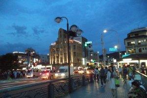 Salah satu sudut di kawasan Kawaramachi