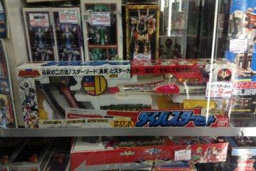 <p>Super Sentai collection in Mandarake Special 2.</p>