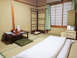 I stayed in room 'Musashi', with shared bath & toilet.
