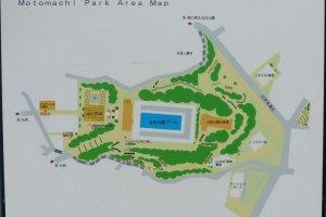 元町公園全体図