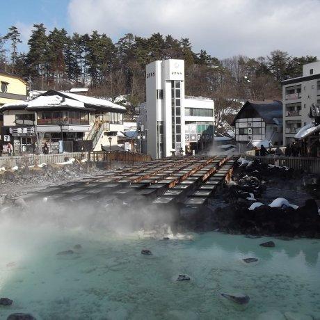 도쿄 겨울 여행: 쿠사츠 온천