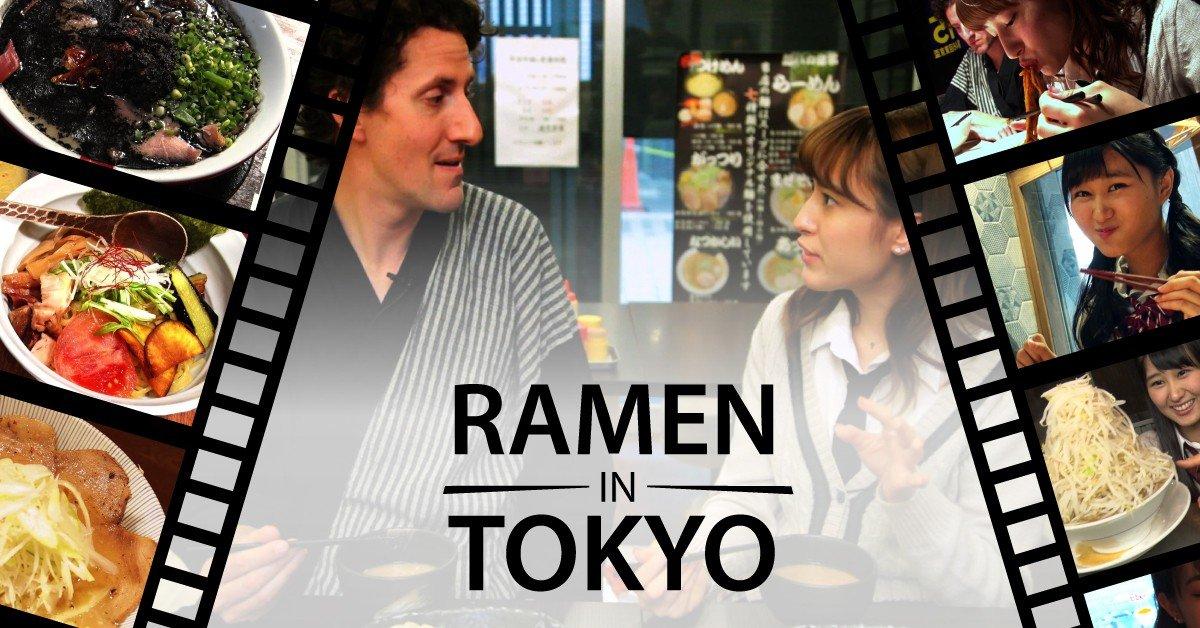 Ramen in Tokyo - Japan Travel