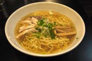 Salt-based ramen, a homegrown specialty of Hakodate