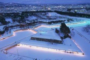 Star Illumination of Goryokaku
