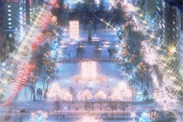 <p>Hakodate Illumination</p>