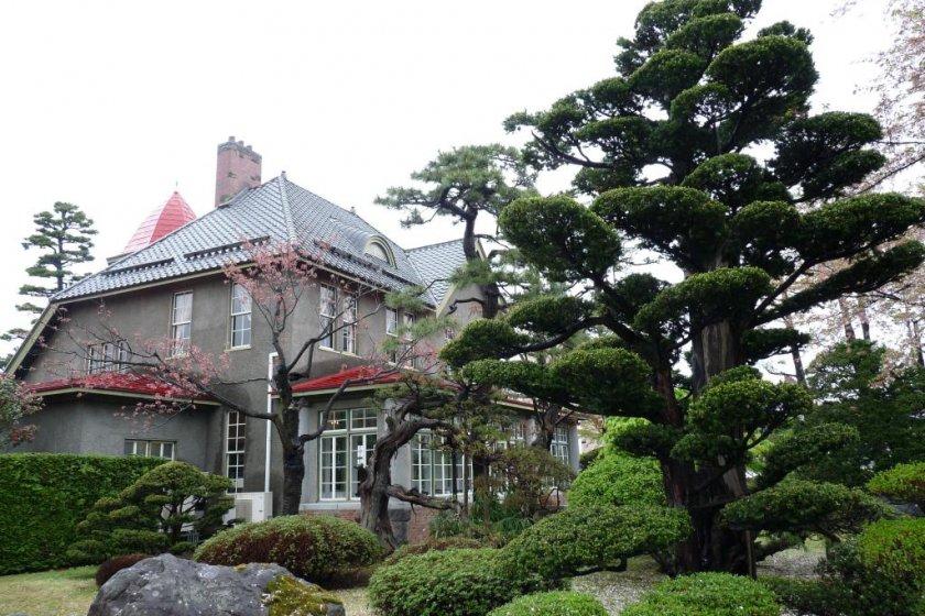 House and upper garden