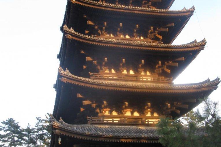 Le Kōfuku-ji à Nara: Trésor du Bouddhisme