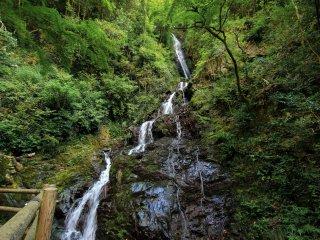 L'une des sept cascades