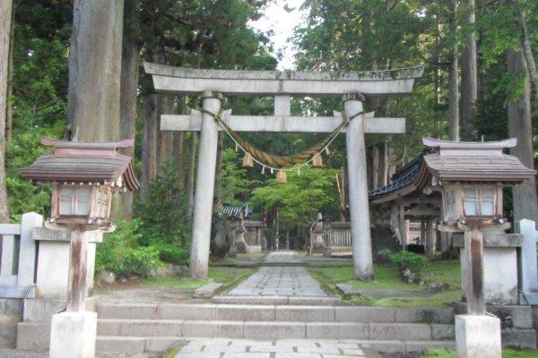 Ashikuraji Oyama Jinja Torii
