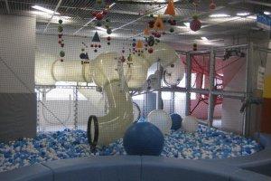 Balls,balls, balls, and lots of play space!