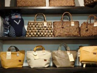 Beautiful handmade bags and purses.