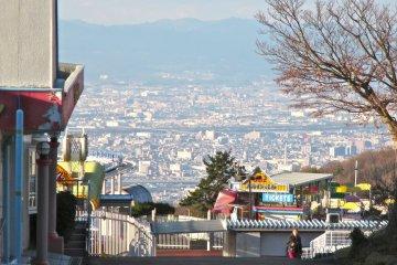 Mt. Ikoma on the Nara Osaka Border