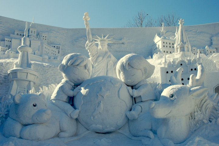 Festival Salju Kota Sapporo