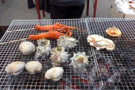 Seafood Market at Ohara Harbor
