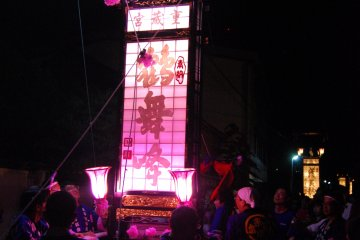 <p>The sizes, shapes and paintings on the Kiriko lanterns vary from community to community. The locals take pride in creating &ldquo;their&rdquo; Kiriko.</p>