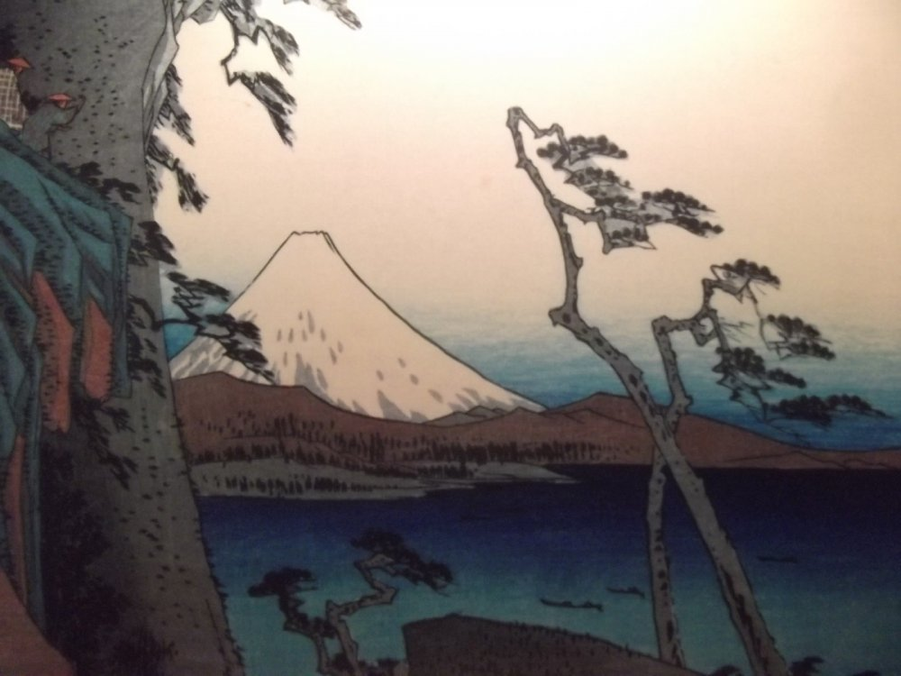 Ukiran kayu Hiroshige