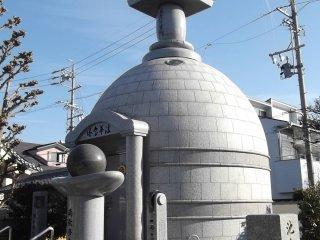 Outro edifício na área do templo