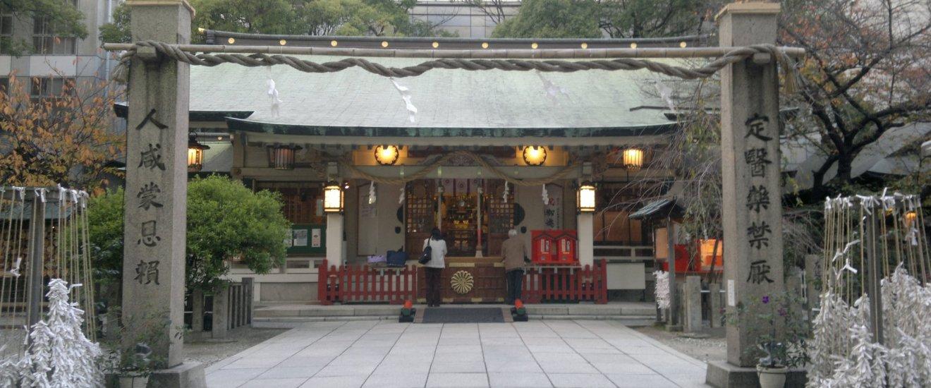 Kuil utama Tsuyu no Tenjinja