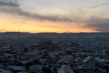 Bình minh đầu tiên trên Hanamaki 2016